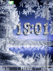 The winter tema screenshot