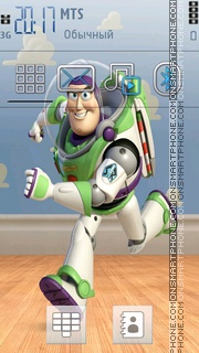 Buzz Light Year 01 theme screenshot