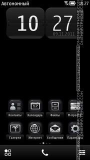 Скриншот темы N8 Evolution Anna