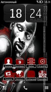 Michael Jordan 04 theme screenshot