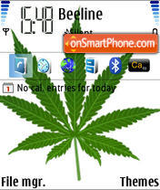 Weed 02 theme screenshot