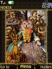 Tarot bogemiam cats theme screenshot