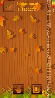 Tree Autumn tema screenshot