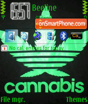 Weed 03 theme screenshot