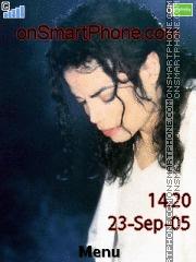Capture d'écran Michael Joe Jackson thème