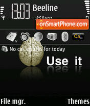 Скриншот темы Use It