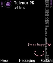 Smile theme screenshot