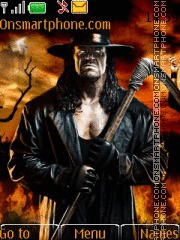 Скриншот темы Undertaker With Tone