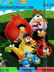 Angry Birds With Tone es el tema de pantalla