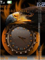 Eagle Clock 02 theme screenshot