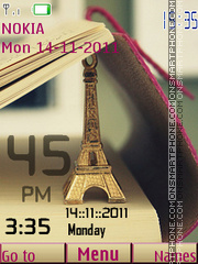 Tower Clock 01 theme screenshot