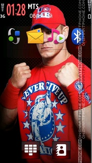 John Cena 20 theme screenshot