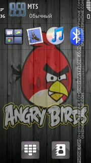 Angry Bird 04 tema screenshot