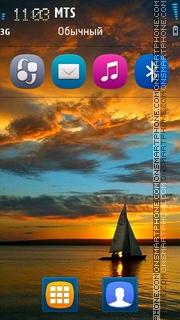 Nice Sea theme screenshot