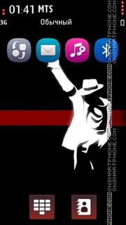 Mj Red 01 tema screenshot