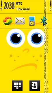 Cute Spongebob theme screenshot