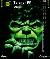 Hulk2 theme screenshot