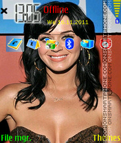 Katy Perry 01 theme screenshot