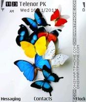 Buterflies es el tema de pantalla