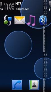 Nuit - S60v5 tema screenshot
