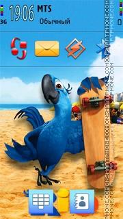 Angry Birds Rio 5th theme screenshot