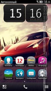 Ferrari 458 Italia 01 theme screenshot