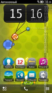 Cut the Rope Theme-Screenshot