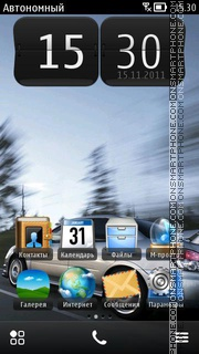 Subaru Impreza 10 theme screenshot