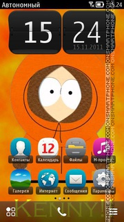Kenny From South Park theme screenshot