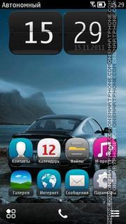 Скриншот темы Porsche 911 Turbo Nokia Theme