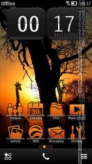 Safari Day theme screenshot