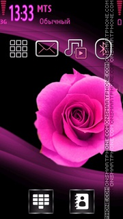 Rose theme screenshot