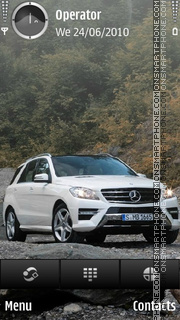 Mercedes ml Theme-Screenshot