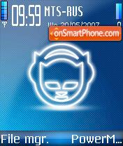 Napster 01 es el tema de pantalla