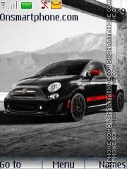 Fiat 500 Abarth 01 theme screenshot