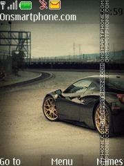 Ferrari 606 theme screenshot