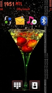 Fruit Cocktail theme screenshot