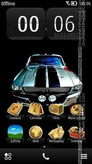 Скриншот темы Muscle Car 2012