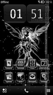 Скриншот темы Glow Fairy