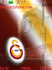 Galatasaray Official es el tema de pantalla