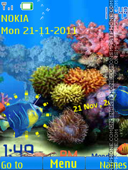 Underwater 03 theme screenshot