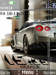 Nissan Clock 01 theme screenshot