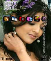 Kajal 01 theme screenshot