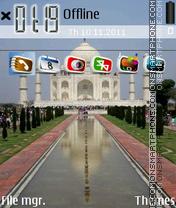 Скриншот темы Taj Mahal 07