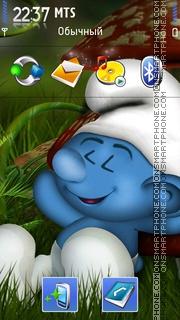 Smurf 01 theme screenshot