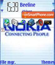 Скриншот темы NokiaValexxx