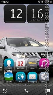 Nissan Murano Diesel theme screenshot