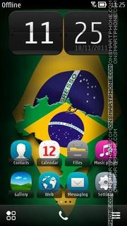 Скриншот темы Brazil 2019