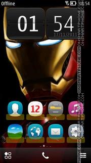 Скриншот темы IronMan 03