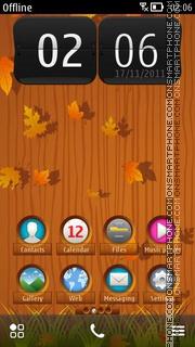 Tree Autumn ^3 es el tema de pantalla